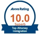 Image result for avvo badge immigration