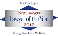 2013 Best Lawyer of the Year - Attorney Glorily A. Lopez